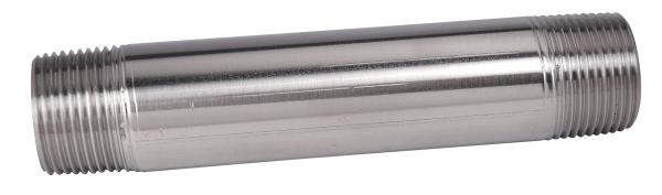 Stainless steel conduit nipples on gibson