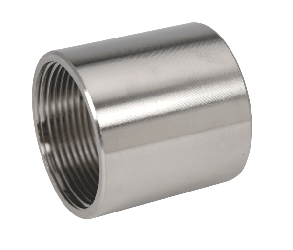Stainless Steel Threaded Couplers : Stainless steel couplings on gibson specialty