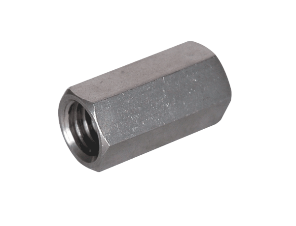 Threaded Bar Couplers : Stainless steel rod couplings on gibson