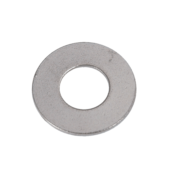 Stainless steel flat washers on gibson