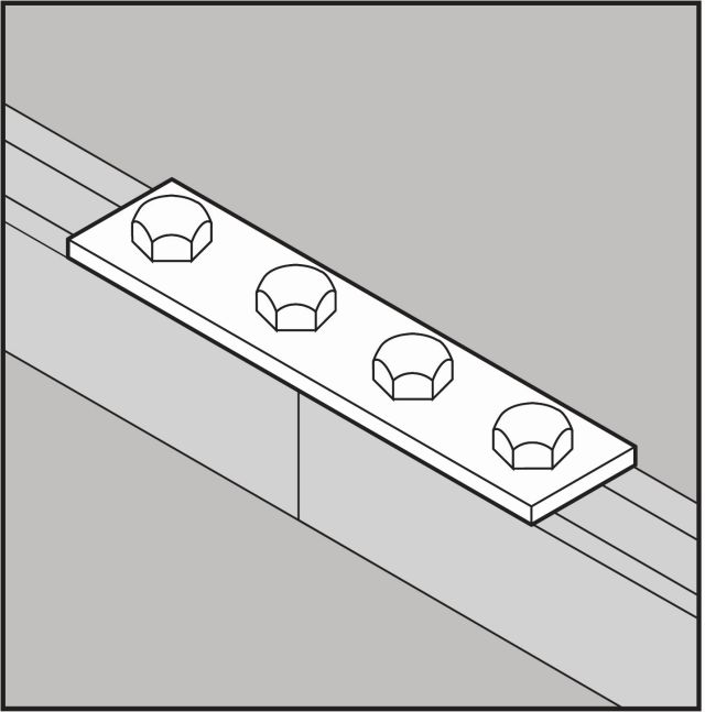 Holes Quotes And Page Numbers: Part Number 5969, 4-Hole Splice Plate On Gibson Stainless