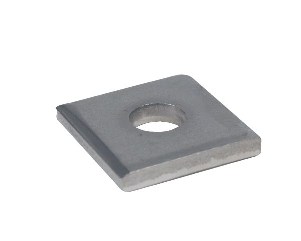 Part Number 5970 3 8 Stainless Steel Square Washers On