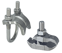 Stainless Steel Conduit Clamps Stainless Right Angle